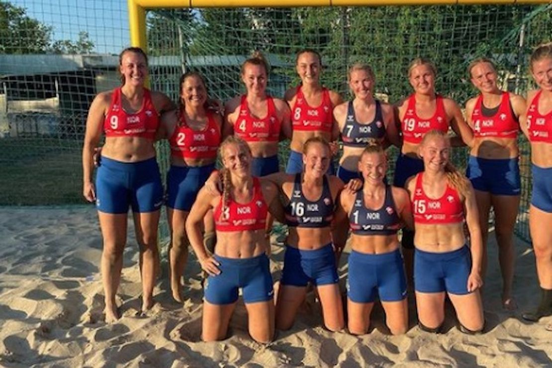 Boxers or briefs? Norway womens' beach handball players fined for wearing ... shorts? – HotAir