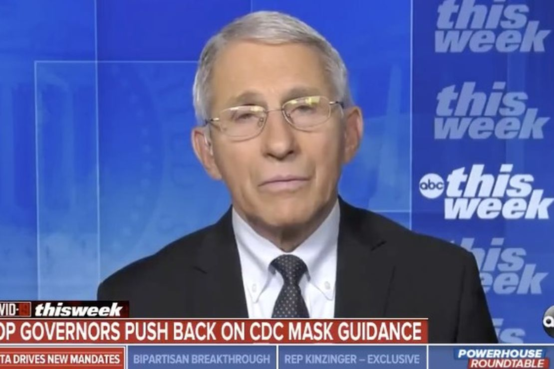 Fauci: If you don't wear a mask, you're encroaching on someone else's rights by making them vulnerable