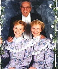 Rulon Jeffs and Two of his Wives